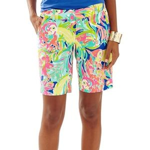 Lilly Pulitzer Chipper  Bermuda Shorts size6
